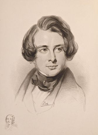 Sketch of Dickens during a visit to America (courtesy of Wikipedia)