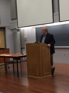 Dinty Moore reads at Widener