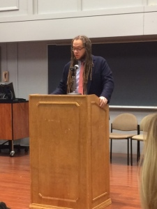 Iain Haley Pollock reads at Widener